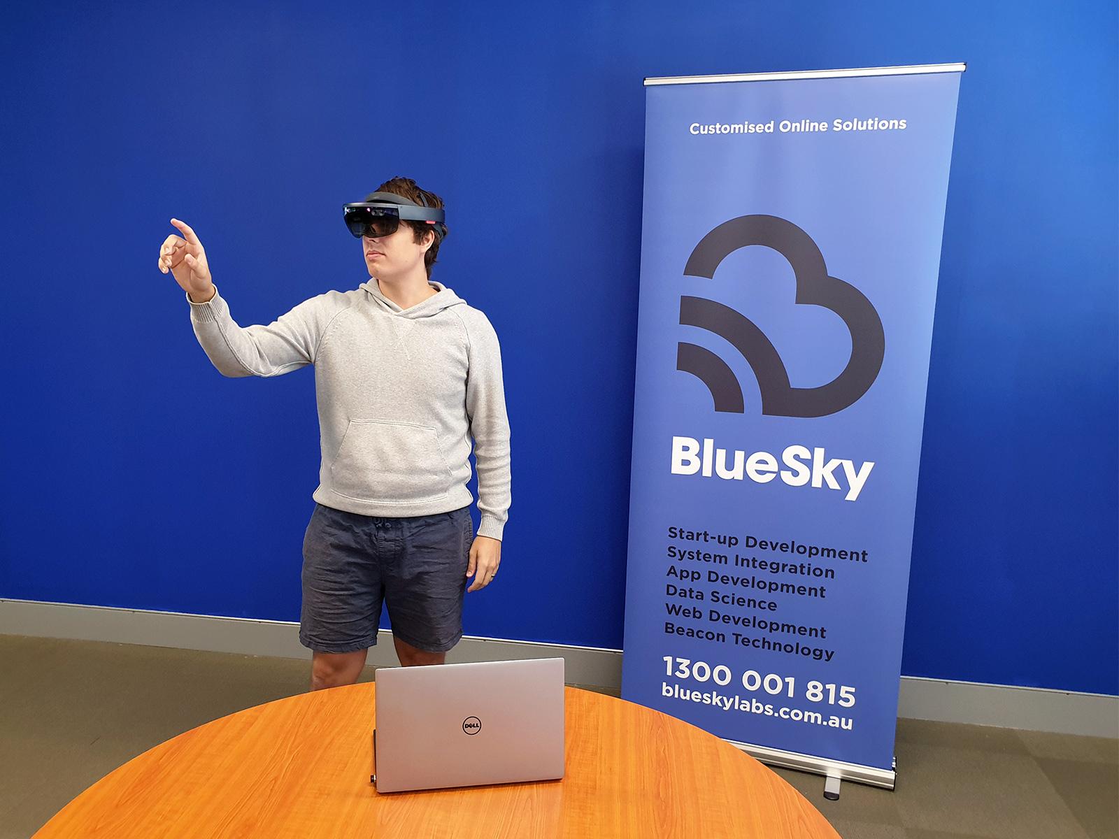 Exploring ideas with Mixed Reality | BlueSky Perth Custom Web + App Development