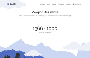 Browser Viewport Assistance | BlueSky Perth Custom Web + App Development