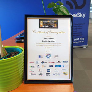Small Business Awards 2019 | BlueSky Perth Custom Web + App Development
