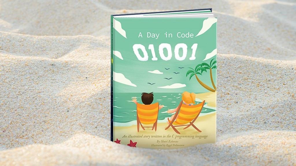A picture book written in code, on Kickstarter | BlueSky Perth Custom Web + App Development