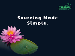 Frogponds online sourcing platform | BlueSky Perth Custom Web + App Development