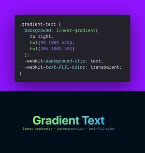 CSS Text Gradients | BlueSky Perth Custom Web + App Development